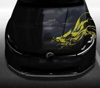 Aufkleber Adlerkopf Motorhaube Adler Auto Seite | Wunschgröße bis 30cm oder 90cm