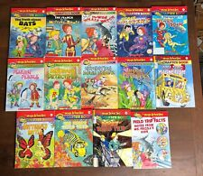 Lot 14 MAGIC SCHOOL BUS Chapter Books 1-4 7-12 16 18 20 Set