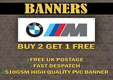 LARGE 2 METRE BMW M POWER Car Banner for Garage / M3 M4 E90 E92 3 SERIES E60