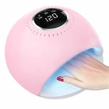 UV LED Nail Lamp, 84W Nail Polish Dryer Automatic Sensor 42 UV Light Curing