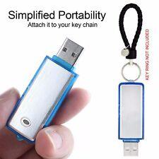 8GB Digital Voice Audio Recorder Spy Hidden Dictaphone Hidden USB Flash Stick UK