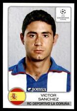Panini Champions League 2001-2002 Victor Sanchez Deportivo No. 204