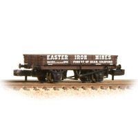 Graham Farish 377-506 N Gauge 3 Plank Wagon Easter Iron Mines