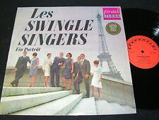 LES SWINGLE SINGERS Ein Porträt / DDR LP 1966 ETERNA PHONOCLUB 820596