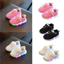 SEXY LED Niño Niña Zapatos con luz luminoso Infantil Zapatillas Deporte