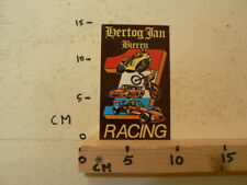 STICKER,DECAL HERTOG JAN RACING BIER ROADRACE,MX CROSS, PORSCHE ?, F3 WEGRACE