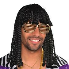 80s Supa Freak Braids Wig Adult Costume Accessory