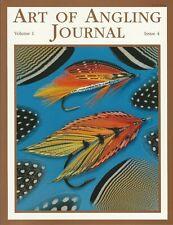 SCHMOOKLER PAUL FLYFISHING FLYTYING BOOK ART OF ANGLING JOURNAL 1/4 new