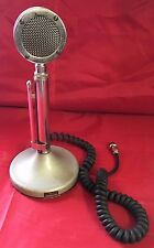 Vintage Astatic D-104 Microphone with T-UG8 Stand