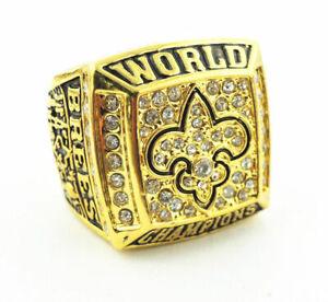 2009 new orleans saints colts world Championship Ring //-