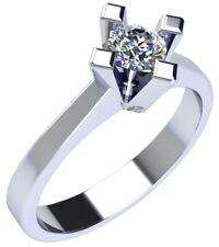 Anello Solitario Gemoro in oro bianco e diamante SS540BIA26 misura 15