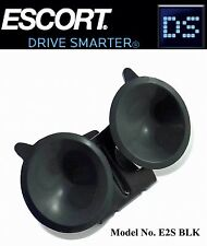 Escort,Beltronics RADAR DETECTOR Windshield Mount Bracket+2 Black Suction Cups !