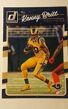 NFL Trading Card Kenny Britt Los Angeles Rams 2016 Panini Donruss