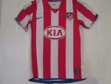 2012-2013 Atlético Madrid Hogar Camiseta De Fútbol medio Chicos/43291