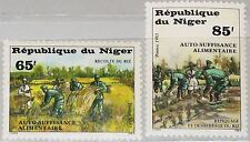 NIGER 1983 831-32 612-13 self sufficiency food production Lebensmittelproduktion