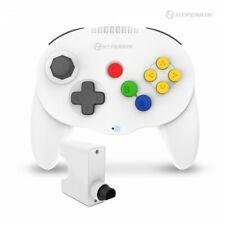 """Admiral"" Premium BT Controller for N64® (White) - Hyperkin"
