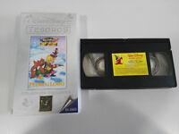 PEDRO Y EL LOBO MINI CLASICOS VHS TAPE CINTA WALT DISNEY CASTELLANO