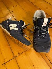 Mens New Balance Shoes Sneaker 574 Blue Excellent Condition UK 10