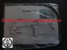 Hercules SB2 Kabelbaum Kabelsatz Nachbau incl. farbigem Schaltplan