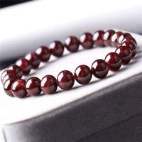 1pcs Tartar garnet Gemstone bracelet size 7.5mm Wrist spirituality Tassel