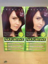 Naturtint Permanent Hair Colourant 2 Packs X 165 Ml Black Cherry 3.60