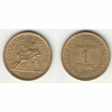 Pièces de monnaie françaises 1 francs qualité SPL