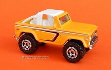 2008 Matchbox Loose 1972 '72 Ford Bronco 4X4 Yellow Brand New Combine Shipping