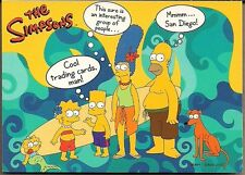 SIMPSONS THE 10TH ANNIV INKWORKS SAN DIEGO COMIC CON EXCLUSIVE PROMO CARD SD2000