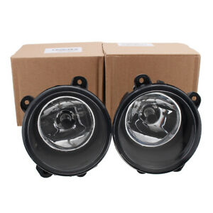 Clear Front Fog Light Lamp For Land Rover Discovery 2/3 RANGE ROVER Sport L322