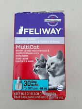 Feliway Multicat Diffuser Refill Constant Calming 30 Day Refill New