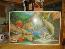 Fishing And Camping Collectible Sign