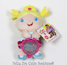 NWT Bright Starts Little Plush Princess Baby Doll Rattle Teether Plush Toy