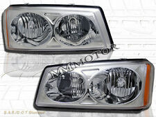 2003-2006 CHEVY SILVERADO 1500 2500 3500/ AVALANCHE CHROME HEADLIGHTS NEW