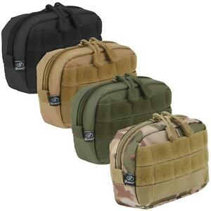 Brandit Compact MOLLE Utility Pouch Tactical Army Military Airsoft 11 x 16 x 4cm