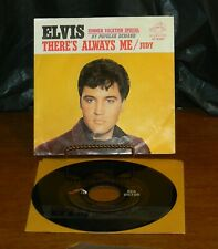 """Elvis Presley """"Judy/There's Always Me"""" Picture Sleeve 45 RCA 47-9287"""