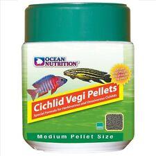 Ocean Nutrition Cichlid Vegi Pellets 200 GRAM  (7 OZ.) Medium   FREE SHIPPING