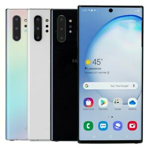 Samsung Galaxy Note 10+ Plus 5G 256GB Unlocked AT&T T-Mobile Very Good Condition