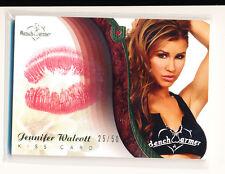 2009 Benchwarmer JENNIFER WALCOTT Kiss Card