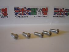 Vespa Front Disc Brake Stainless Steel Allen Bolt (x5) Fixing Kit - PX200Disc