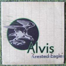 ALVIS CRESTED EAGLE CAR SALES BROCHURE CIRCA 1935