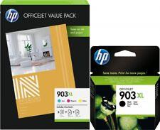 4x ORIGINAL HP 903XL TINTE PATRONEN OfficeJet 6950 6962 6960 6961 6963 6964 6965