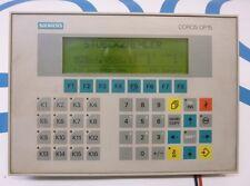 Siemens OP15 OP15-C1 6AV3515-1MA30 Operator Panel Bedienterminal