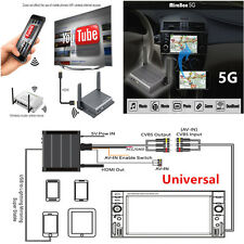 5G Home/Car Wifi Mirabox For iOS9/10 + Android OS, Screen Mirroring w/ RCA +HDMI