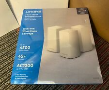 Linksys 3-Pack VELOP Dual-Band Routers AC1200 - Whole Home WiFi System