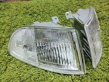 JDM Honda Civic EG4 EG6 EJ1 3Dr Coupe Clear Corner Lights Lamp Light 1992-1995