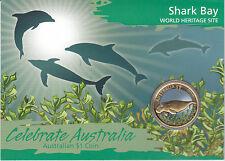 2010 $1 Celebrate Australia World Heritage Site - Shark Bay