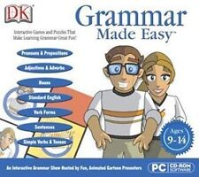 DK GRAMMAR MADE EASY  Win 7 8 Vista XP  Make Learning Grammar Great Fun!  NEW