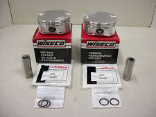 "Harley Evo Powerhouse 114"" Engine Forged Pistons Rings Pins Clips Wiseco MidUSA"