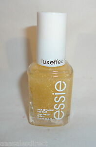 Essie Luxeffects Nail Polish Lacquer Top Coat, 950 AS GOLD AS IT GETS B2G 30%OFF