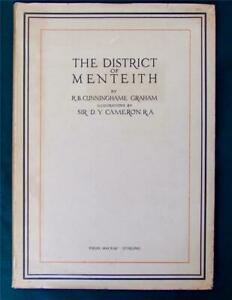 District of Menteith Cunninghame Graham, D.Y. Cameron, Signed, Limited Deluxe